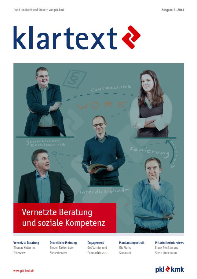 Klartext Magazin: 02-2013